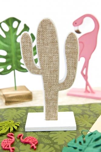 Cactus in tela con supporto-1