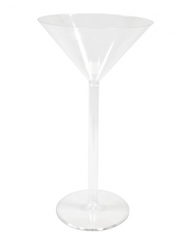 Calice in plastica per martini