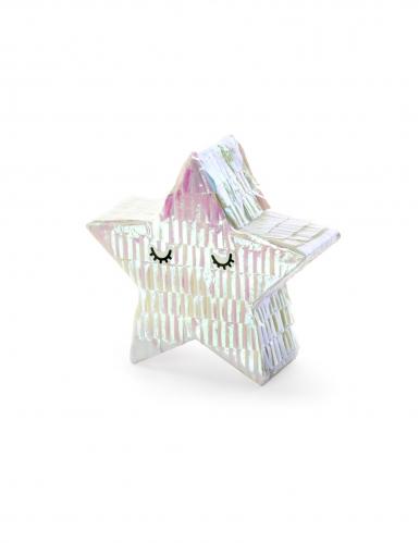 Mini pignatta stella iridescente