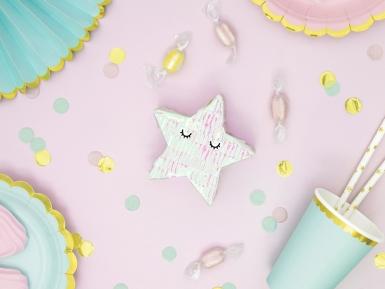 Mini pignatta stella iridescente-2