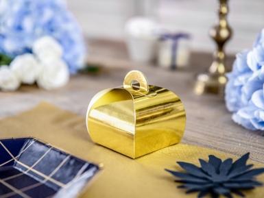 10 scatole in cartone color oro metallizzato-1