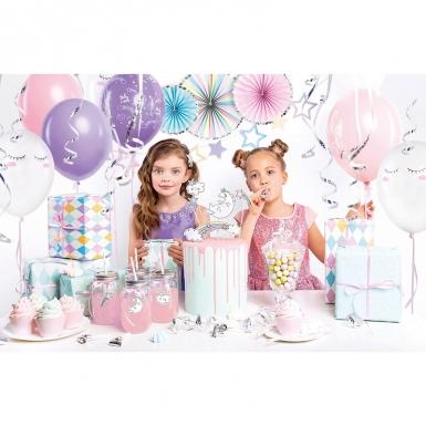 Kit 35 decorazioni per compleanno unicorno-1