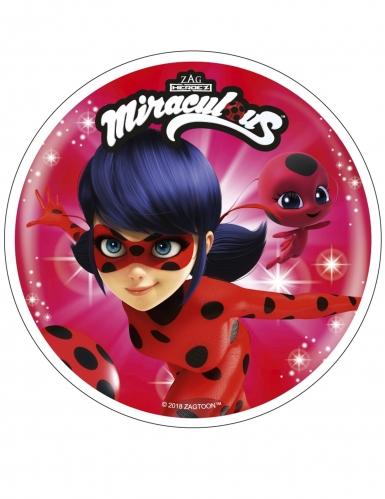 Disco di ostia Ladybug Miraculous™ 21 cm casuale