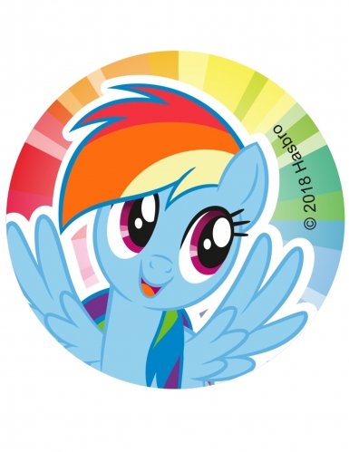 12 decorazioni per biscotti My Little Pony™-3