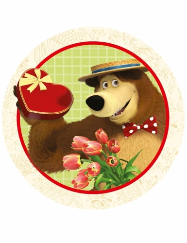 12 decorazioni per biscotti Masha e Orso™-3