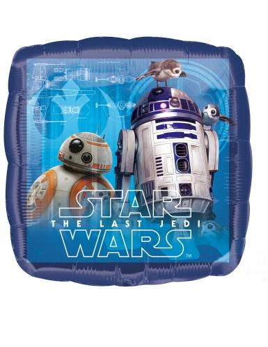 Palloncino in alluminio blu quadrato Star Wars™