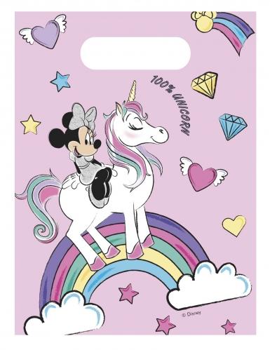 6 sacchetti regalo Minnie unicorn™
