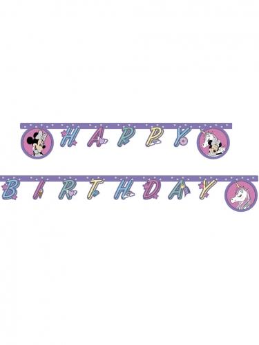 Ghirlanda Happy Birthday Minnie unicorn™