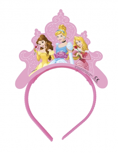 4 tiare in cartone Principesse Disney Dreaming™