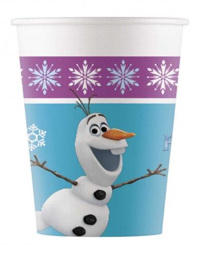 8 bicchieri in cartone Frozen™ 200 ml
