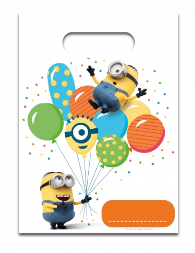 6 sacchetti regalo Minions party™