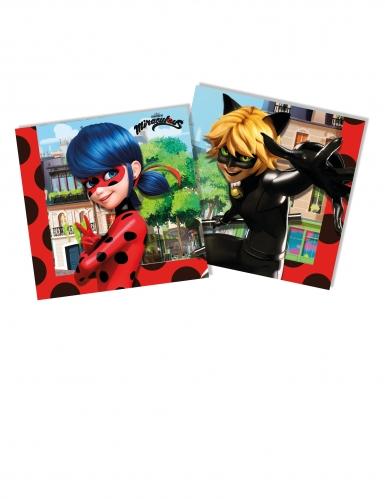 20 tovaglioli in carta a tema Ladybug™