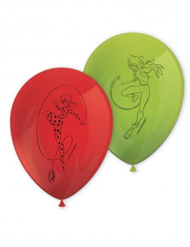 8 palloncini colorati Ladybug™