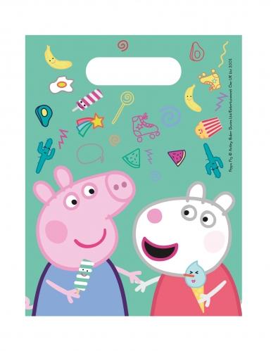 6 sacchetti regalo a tema Peppa Pig™