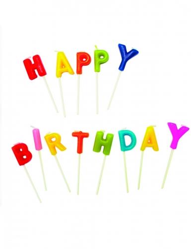 Candeline Happy Birthday multicolor