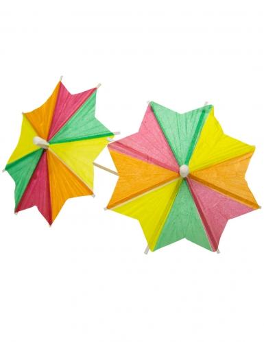 10 stecchini aperitivo con ombrelli