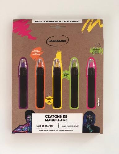 Set 5 matite trucco UV 2,8gr
