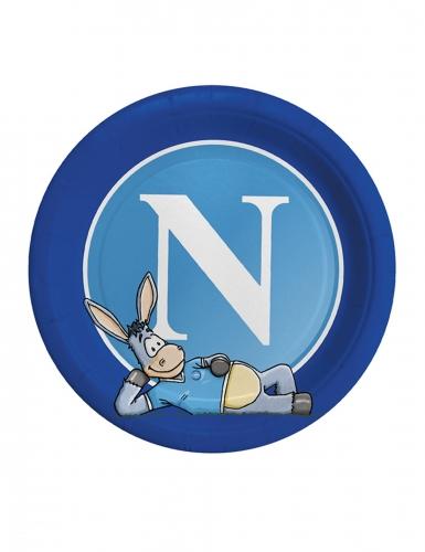 8 piatti in cartone Napoli™ 24 cm