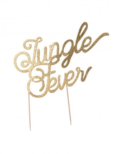Decorazione per torte Jungle Fever color oro