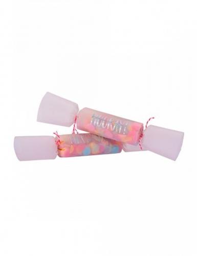 8 mini confezioni di coriandoli multicolor