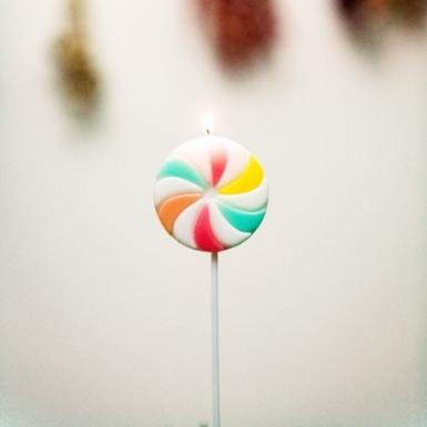 Candelina di compleanno lecca lecca-1
