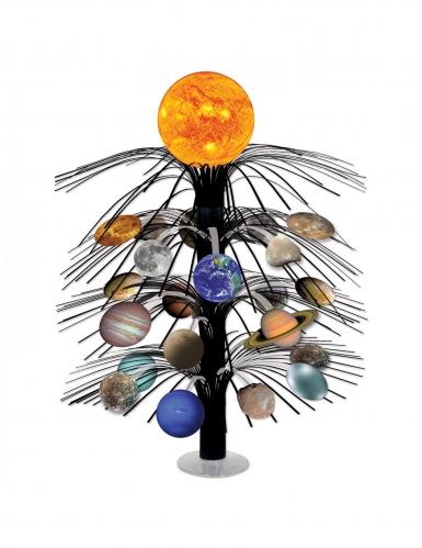 Centrotavola a cascata sistema solare