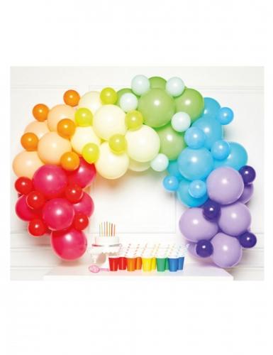 Kit arco da 85 palloncini multicolor