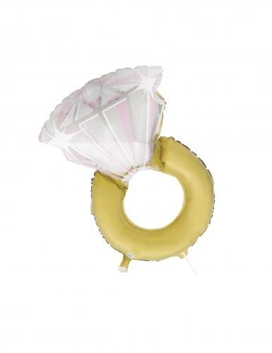 Palloncino in alluminio anello di fidanzamento