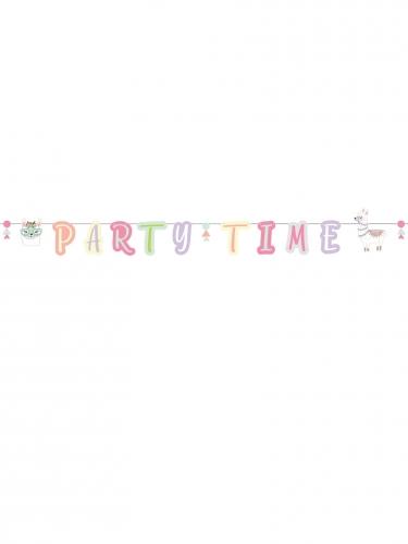 Ghirlanda Party Time lama pastello-1