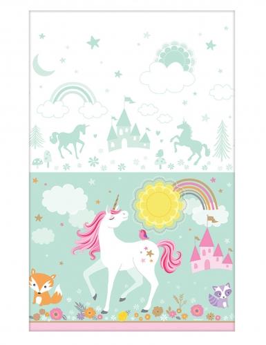 Tovaglia in plastica unicorno magico