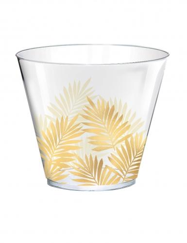 30 bicchieri in plastica tropical chic