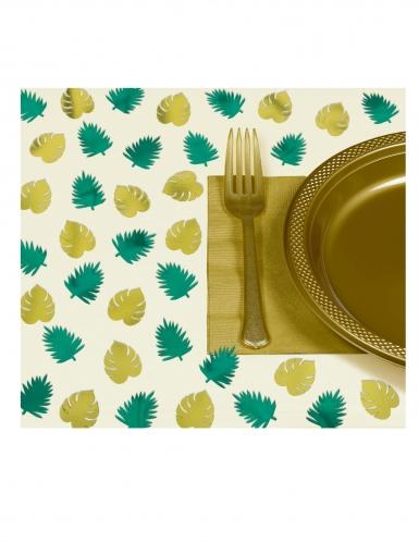 48 coriandoli da tavola tropical chic