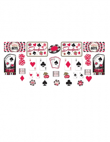 30 accessori casino in cartone