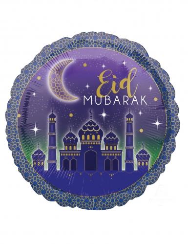 Palloncino alluminio Eid Mubarak
