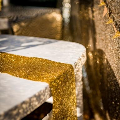 Nastro dorato con brillantini-1