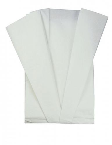 5 fogli di carta velina bianca
