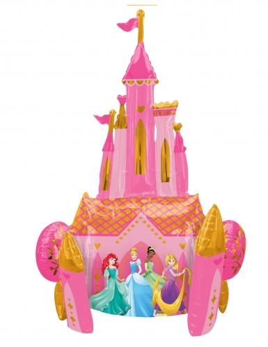 Palloncino alluminio castello rosa Principesse Disney™-1