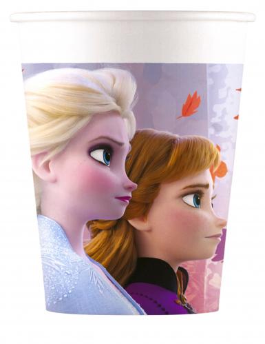 8 Bicchieri di carta Frozen 2™ 200ml
