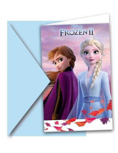 6 inviti per festa Frozen 2™