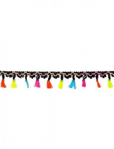Ghirlanda messicana in poliestere con nappe colorate