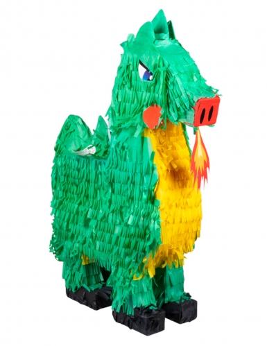 Pignatta in cartone drago verde