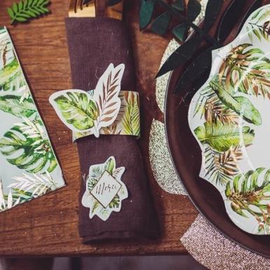 10 portatovaglioli in cartone tropical-1