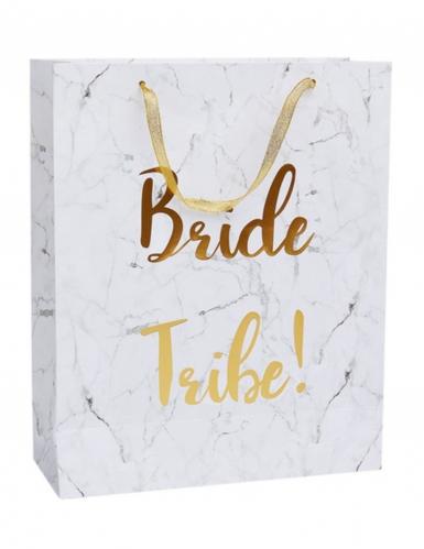 Sacchetto regalo effetto marmo Bride Tribe