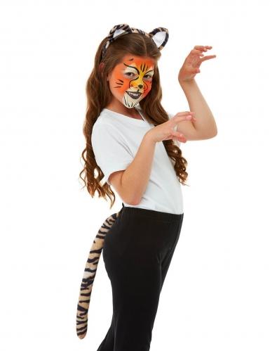 Kit trucco e accessori tigre per bambini-4