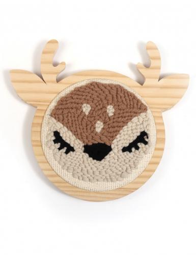 Kit cucito Punch Needle cervo-3