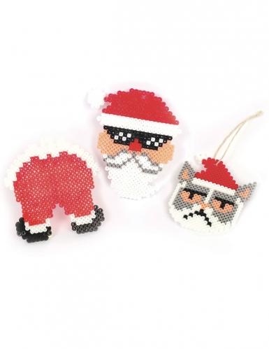 Kit perline da stirare Babbo Natale-1