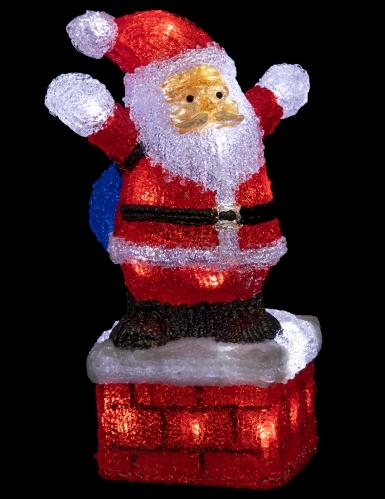 Babbo Natale luminoso 40 cm-1