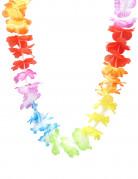 Collana floreale di benvenuto stile Hawaii