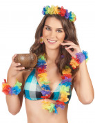 Kit colorato Hawaii da donna
