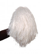 Pon pon bianco metallizzato